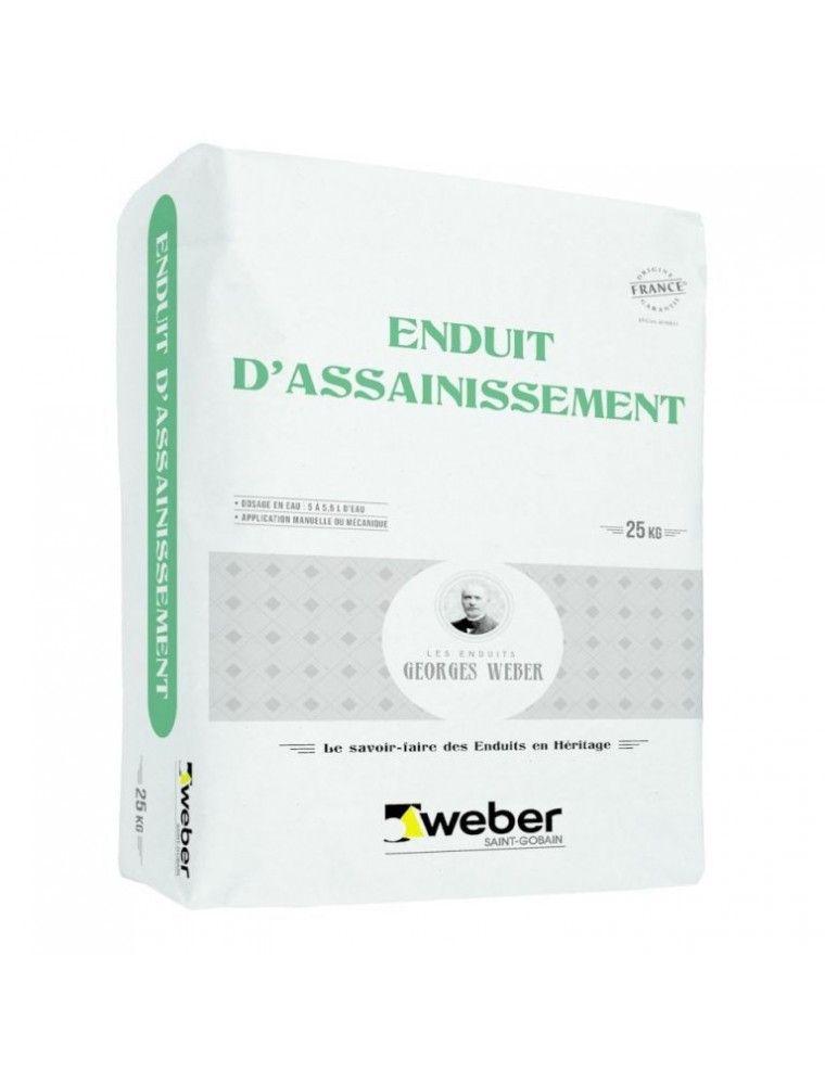 ENDUIT D'ASSAINISEMENT -  (WEBER MEP SP) 25KG