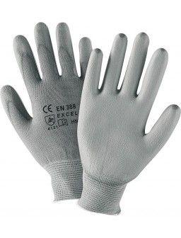 Gants pour montage, nylon gris, taille L
