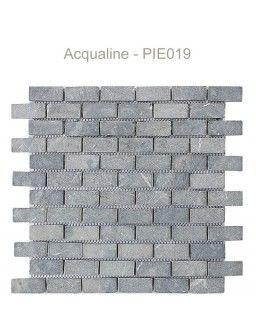 MOSAIQUE PIERRE EFFET BRIQUE GRIS 30X30