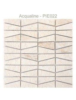 MOSAIQUE PIERRE CLAIRE/BLANC 30X30