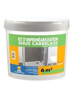 KIT D'IMPERMEABILISATION SOUS CARRELAGE PRESERFOND 6M²