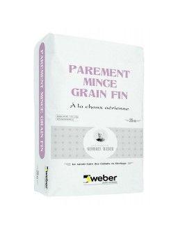PAREMENT MINCE GRAIN FIN 25KG -  (WEBER.UNICOR ST)