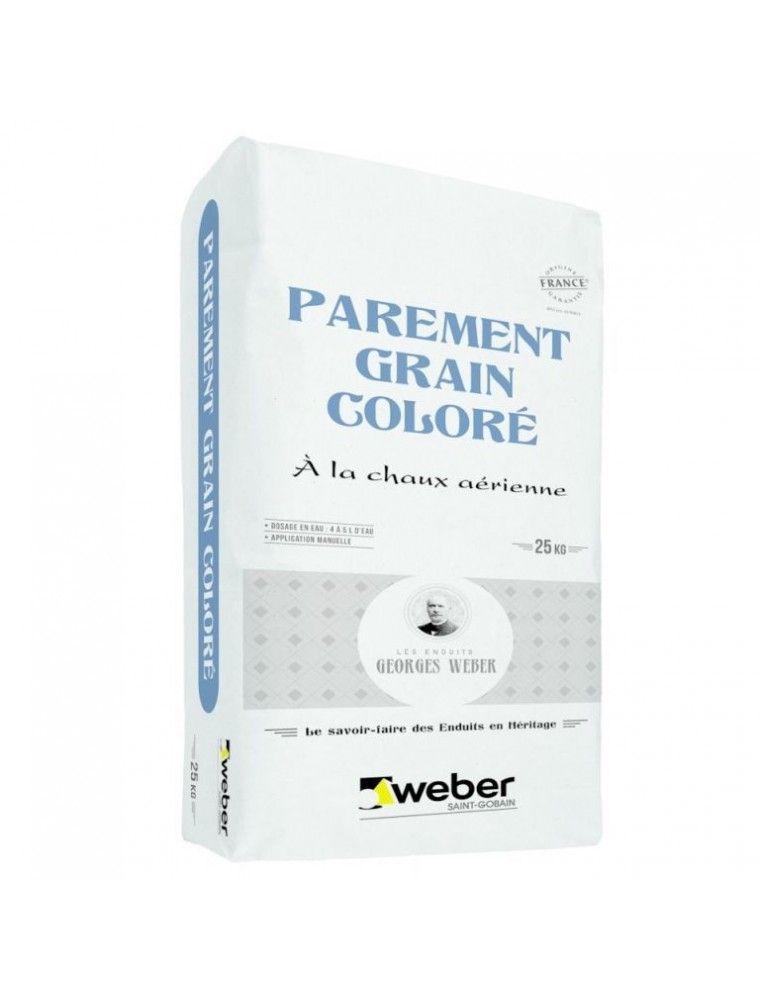 WEBER PAREMENT GRAIN COLORE 25KG