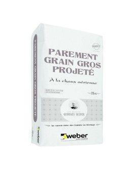 WEBER PAREMENT GRAIN GROS PROJETE 25KG