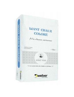 WEBER LIANT CHAUX COLORE 15KG