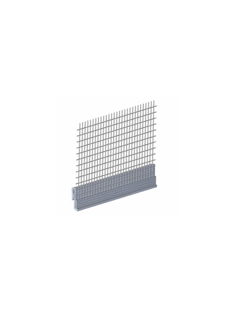 PROFILE DE REPERE D'EPAISSEUR PVC + TRAME - 2.50 M