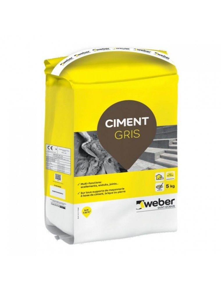 WEBER CIMENT GRIS 5KG