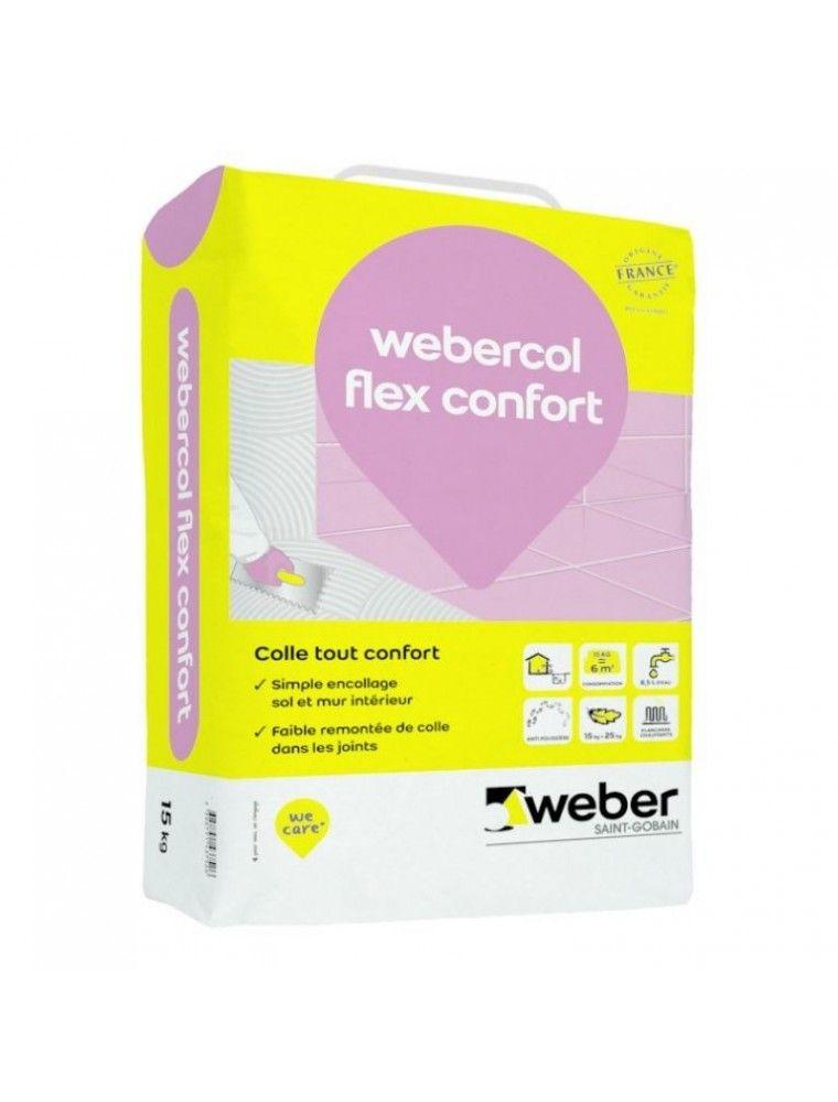WEBER COL FLEX CONFORT 15KG