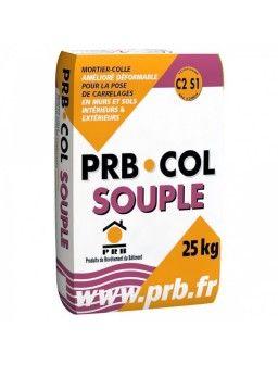 PRB COLLE SOUPLE GRIS 25KG