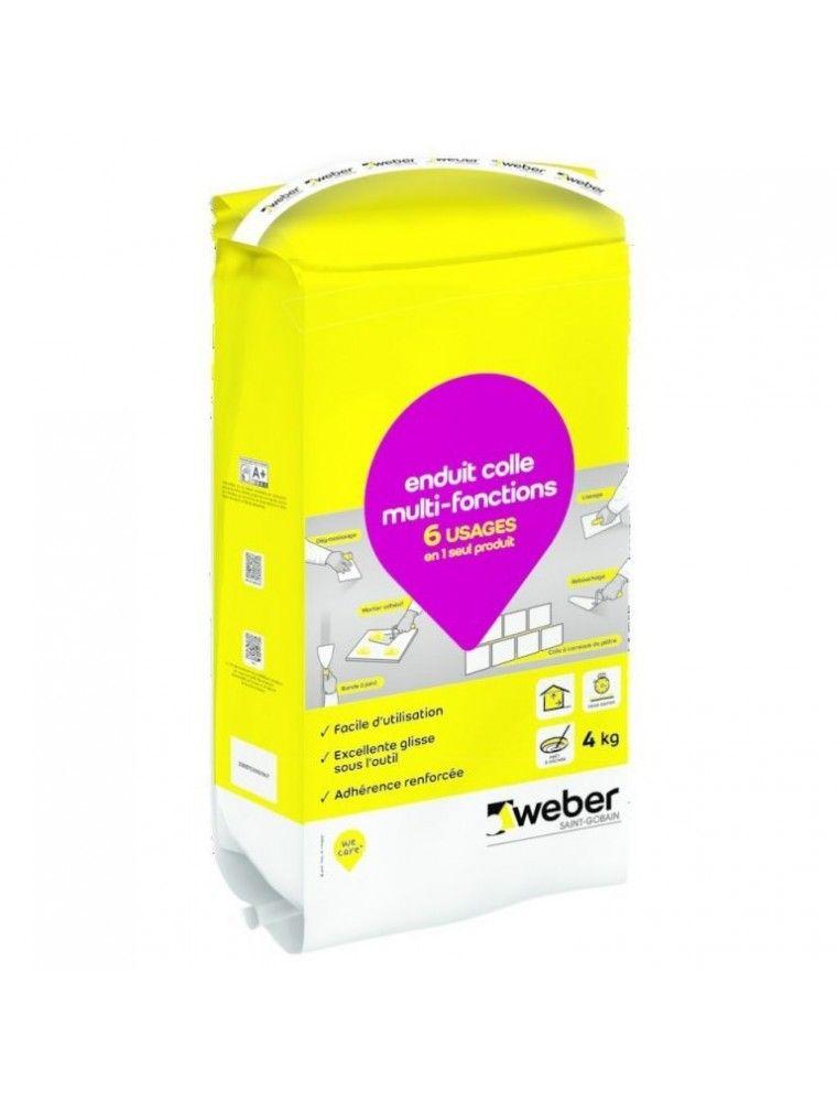 WEBER ENDUIT COLLE MULTI-FONCTIONS 4KG