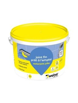 WEBER JOINT PATE BLANC 5KG