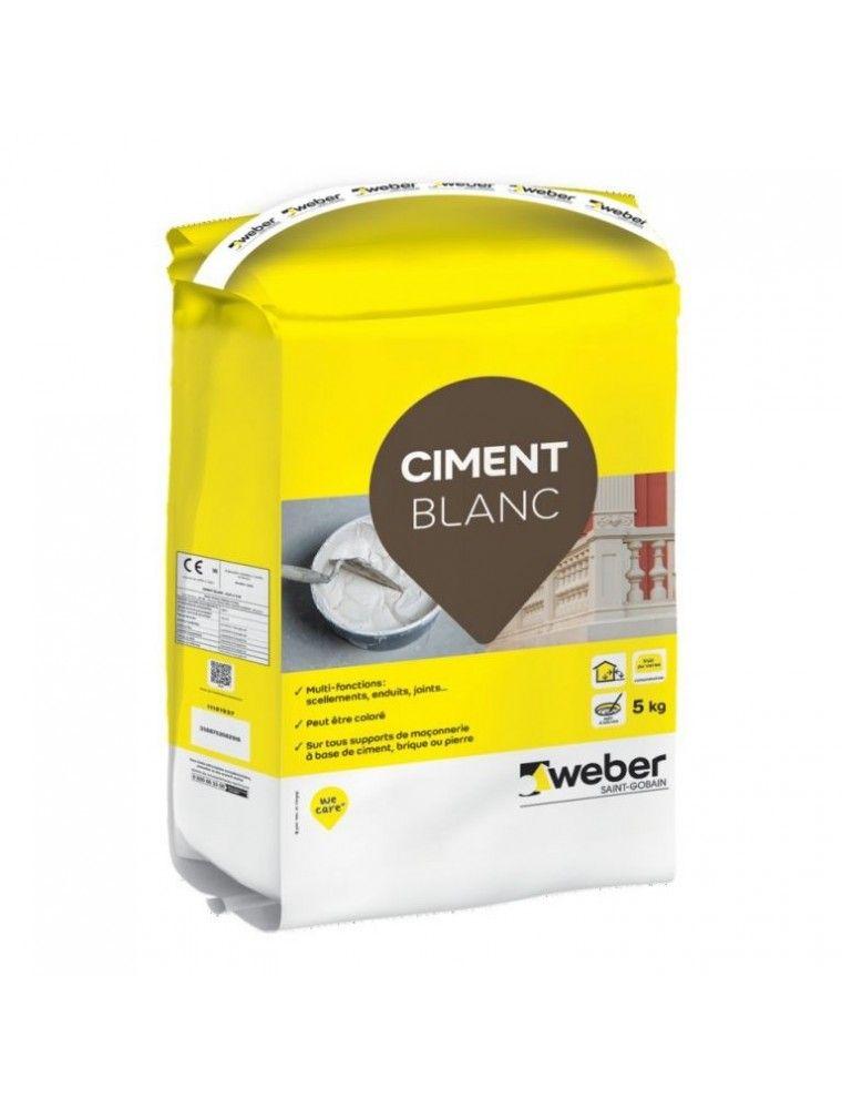 WEBER CIMENT BLANC 5KG