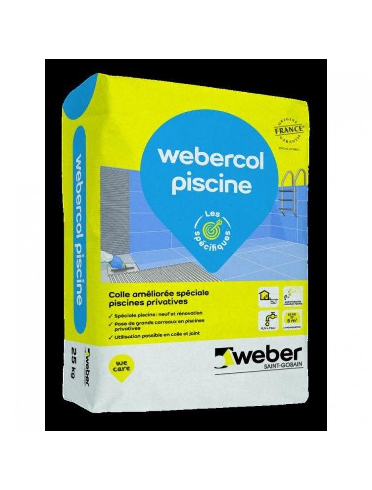 WEBER COL PISCINE 25KG