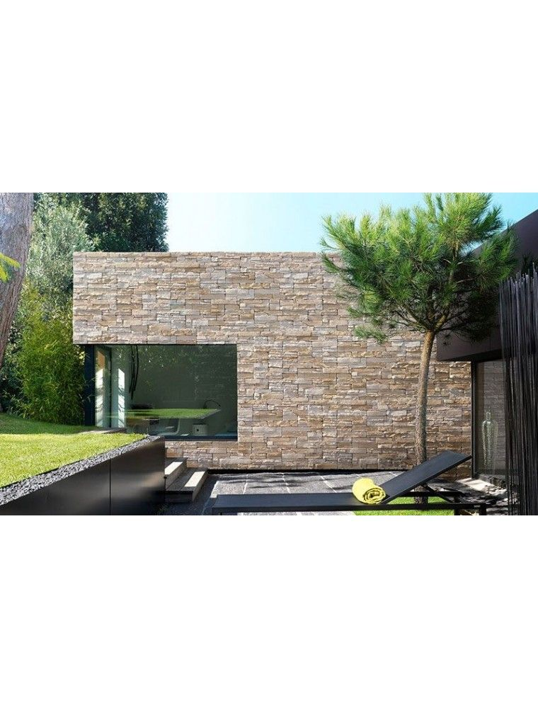 Parement PAVE WALL WOOD 22.5x45